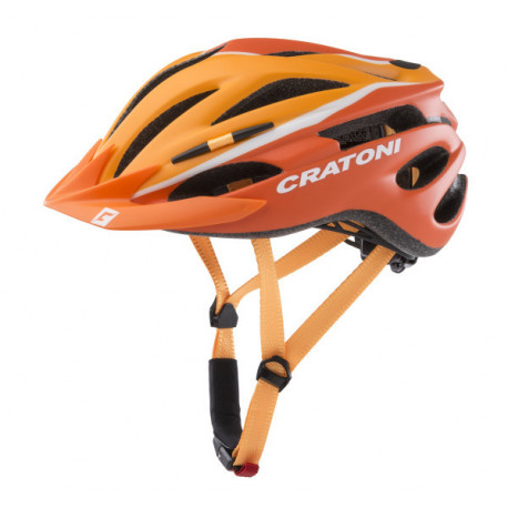 Cratoni Pacer XS-S (Orange/White Matt) 49-55 см