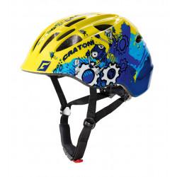 Cratoni Akino Robo S (Yellow-Blue Glossy) 49-53 см