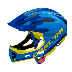 Cratoni C-Maniac Limited Edition S/M (Blue/Yellow Matt) 52-56 см