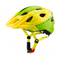 Cratoni Allride UNI (Lime-White Matt) 53-59 см