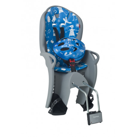 Hamax Kiss + Helmet 48-52 см (Grey/Blue)