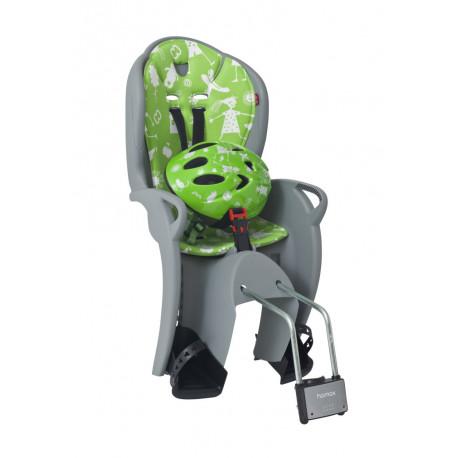 Hamax Kiss + Helmet 48–52 см (Grey/Green)