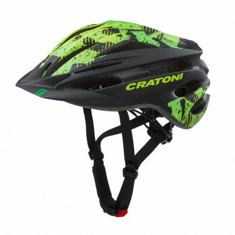 Cratoni Pacer S-M (Black-Lime Matt) 54-58 см