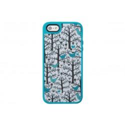 Speck FabShell LoveBirds Teal(iPhone SE/5/5s)