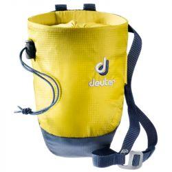 Deuter Gravity Chalk Bag II M (Greencurry Navy)
