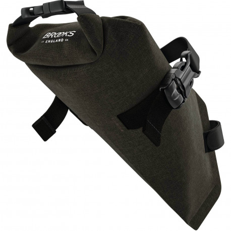 Brooks Scape Saddle Roll Bag (Mud)