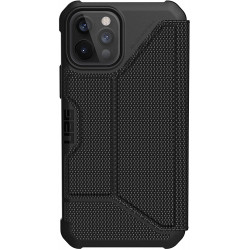 UAG Metropolis (iPhone 12/12 Pro) Fibr Black
