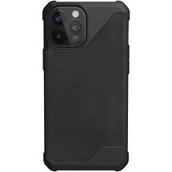 UAG Metropolis Lite (iPhone 12 Pro Max) Leather Black