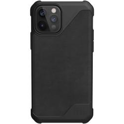 UAG Metropolis Lite (iPhone 12/12 Pro) Leather Black