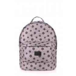 POOLPARTY Backpack Snowflakes Grey