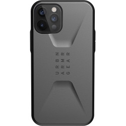 UAG Civilian (iPhone 12/12 Pro) Silver