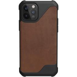 UAG Metropolis Lite (iPhone 12/12 Pro) Leather Brown