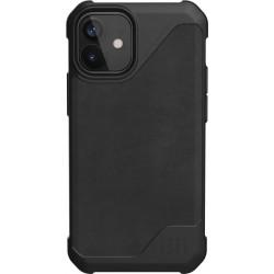UAG Metropolis Lite (iPhone 12 Mini) Leather Black