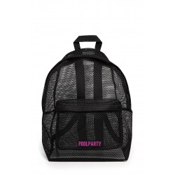 POOLPARTY Backpack Mesh Black