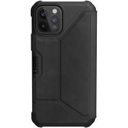 UAG Metropolis (iPhone 12/12 Pro) Leather Black