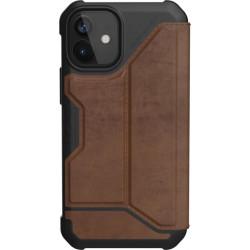 UAG Metropolis (iPhone 12 Mini) Leather Brown
