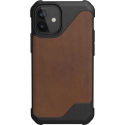 UAG Metropolis Lite (iPhone 12 Mini) Leather Brown