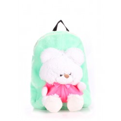 POOLPARTY Kiddy Backpack Teddybear Green