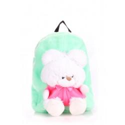 POOLPARTY Kiddy Backpack Teddybear Green