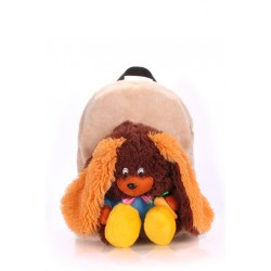 POOLPARTY Kiddy Backpack Rabbit Brown