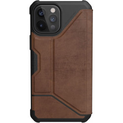 UAG Metropolis (iPhone 12 Pro Max) Leather Brown
