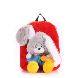 POOLPARTY Kiddy Backpack Rabbit Red