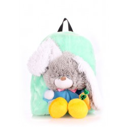 POOLPARTY Kiddy Backpack Rabbit Green