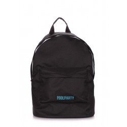 POOLPARTY Eco Backpack Black
