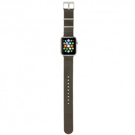 Incase Nylon Nato Band for Apple Watch 38mm Anthracite