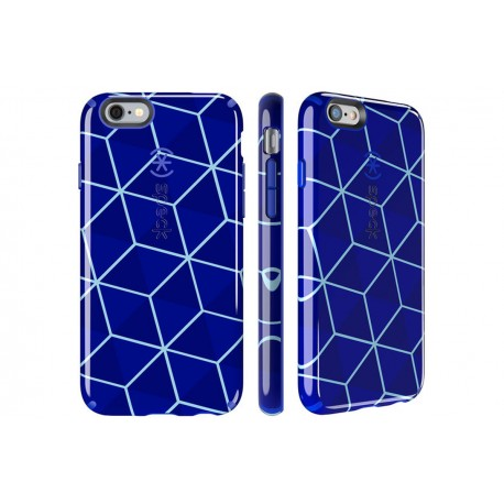 Speck for Apple iPhone 66s Candyshell Inked Stacked Cube BlueRaincoat Blue