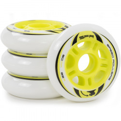 SFR Inline Wheels 76/82A (White)