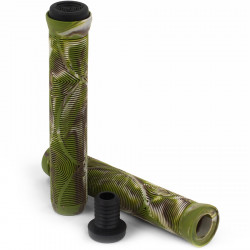 Slamm Team Swirl Bar Grips (Jungle)