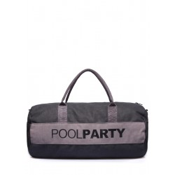 POOLPARTY Gymbag Black Grey