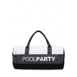 POOLPARTY Gymbag White Grey Blac
