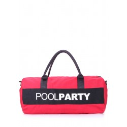 POOLPARTY Gymbag Red Black