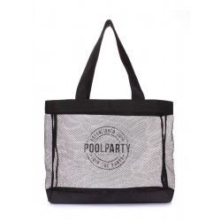 POOLPARTY Mesh Beach Tote