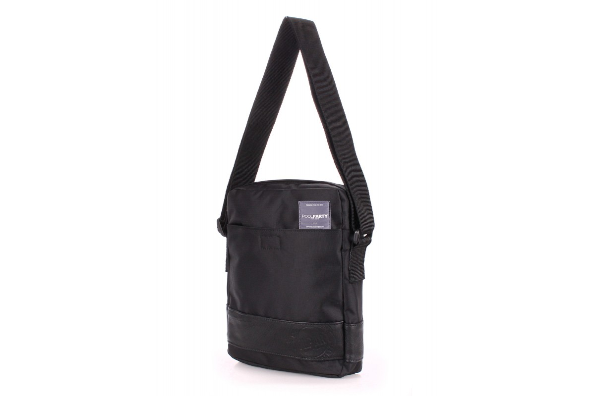 abf6d15315d8 ProBag| Мужская сумка на плечо POOLPARTY Pool 94 Oxford Black ...
