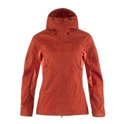 Fjallraven Abisko Lite Trekking Jacket W (Cabin Red/Rowan Red) S