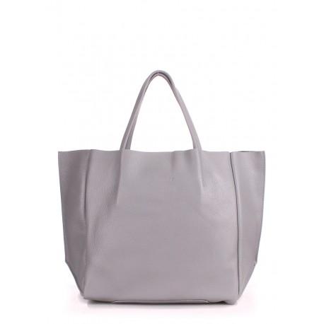 f38cced3e1b4 ProBag| Кожаная сумка POOLPARTY Soho Grey —《Здесь ДЕШЕВЛЕ》☎(044 ...