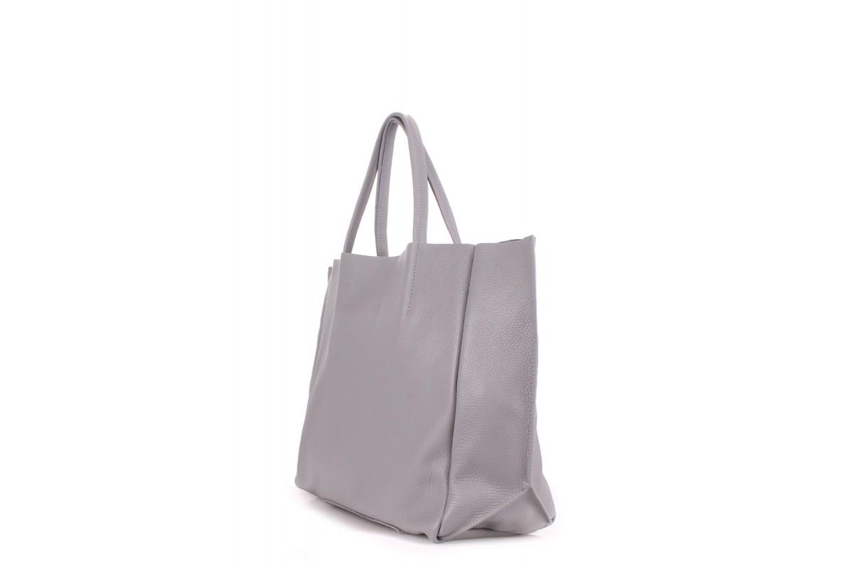 fc55ffe741e8 ProBag| Кожаная сумка POOLPARTY Soho Grey —《Здесь ДЕШЕВЛЕ》☎(044 ...