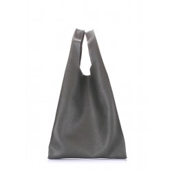 POOLPARTY Leather Tote Khaki