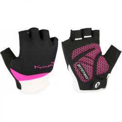 KinetiXx Liz Ladies Bike Glove 17,5-6-XS (Black-Pink)