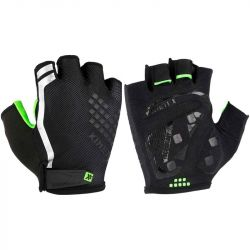 KinetiXx Luke Top Function Bike Glove Unisex 27-10-XL (Black-Green)