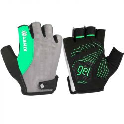 KinetiXx Liam Active Bike Glove Unisex 26-9,5-L (Grey-Green)