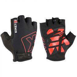 KinetiXx Lou Smart Bike Glove Unisex (Black-Red) 22-8-M
