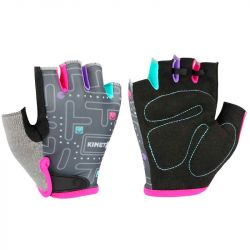 KinetiXx Lexy Kids Bike Glove 5 (Grey Printed)