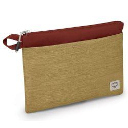Osprey Arcane Zip Pouch L (Milky Tea Tan/Acorn Red)