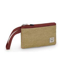 Osprey Arcane Zip Pouch M (Milky Tea Tan/Acorn Red)