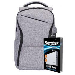Energizer EPB005 (Grey) + powerbank UE10004QC (White)