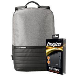 Energizer EPB001 (Grey) + powerbank UE10004 (Black)